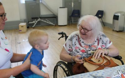 Intergenerational Sessions at Kids adVentures Salford